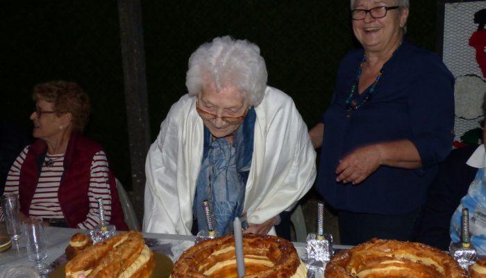 La doyenne de la commune à fêté ses 100 ans
