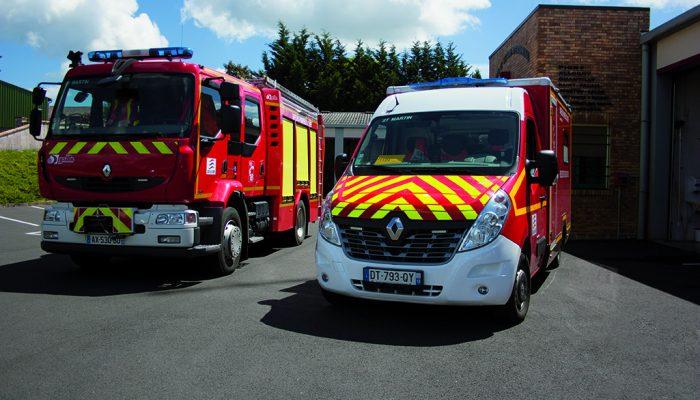 Centre de secours des pompiers