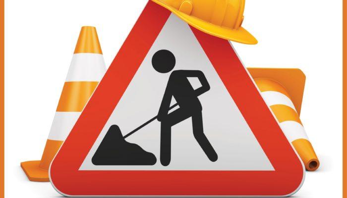 Info travaux : La rue du commerce sera fermée à la circulation du 30 août au 3 septembre inclus.